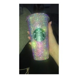 Starbucks dazzled cups